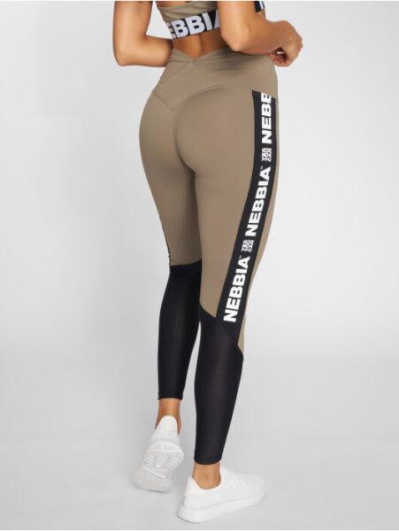 NEBBIA High waist mesh leggings 601 Women Sport Fitness Bodybulding Gym Sexy
