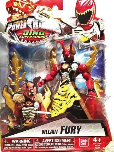 "Power Rangers Dino Super Charge 5/"" Villain Fury"