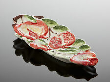 BASSANO Löffelablage Schale Granatapfel Ausgefallene italienische Keramik Relief