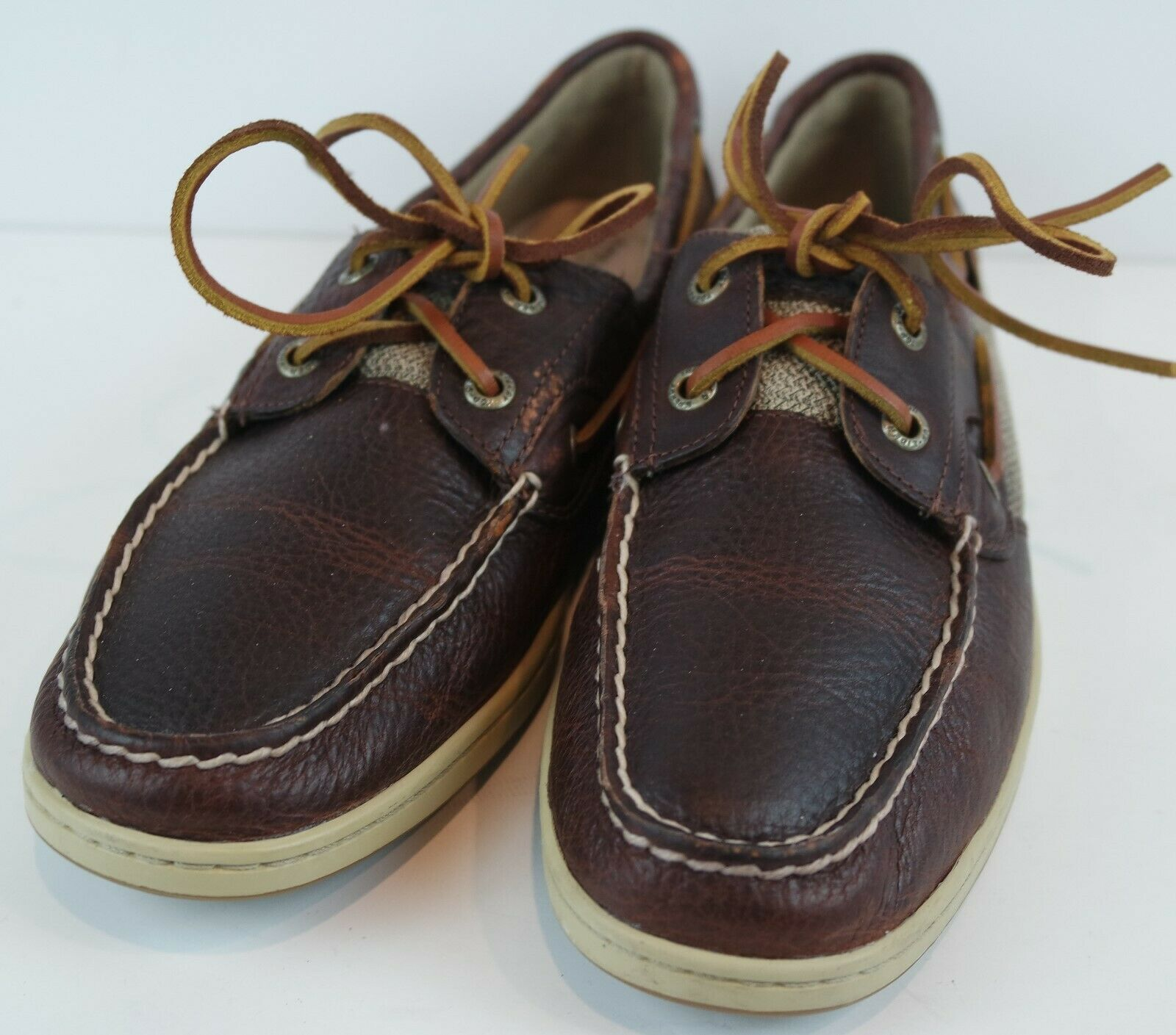 Sperry Top Sider Women's Koifish Boat Shoes Brown MSRP Size 8.5 M