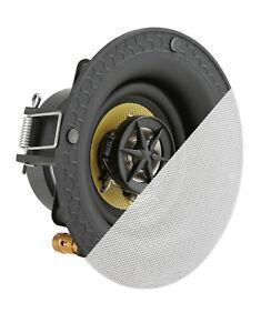 TDX-3-034-2-Way-in-ceiling-Heimkino-Lautsprecher-Magnet-Grill-Flush-Mount-White
