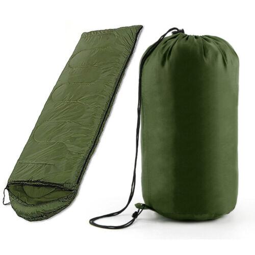 4 SEASON WATERPROOF SINGLE ADULT CAMPING HIKING SUIT CASE ENVELOPE SLEEPING BAG