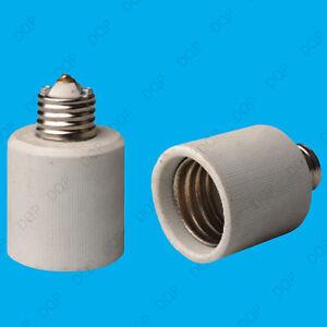 6x E27 Edison Screw to Goliath E40 Ceramic Light Socket Lamp Adaptor Converter