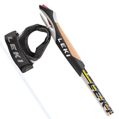 PAIR LEKI Supreme SHARK Nordic Power Walking Poles Sticks Formally Prestige pole