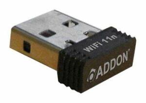 Addon Technology Nwu275v3 11n 150 Mbps Sans Fil Adaptateur Usb Wifi-afficher Le Titre D'origine