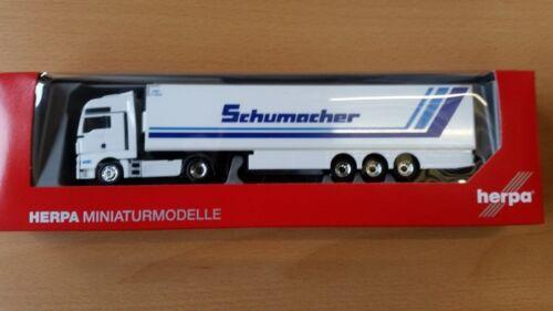 Spedition Schumacher Neu Herpa 306263-1//87 Man Tgx Xxl Euro 6 Kühlkoffer-Sz