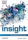 Insight: Pre-Intermediate: Student's Book by Oxford University Press (Paperback, 2013)
