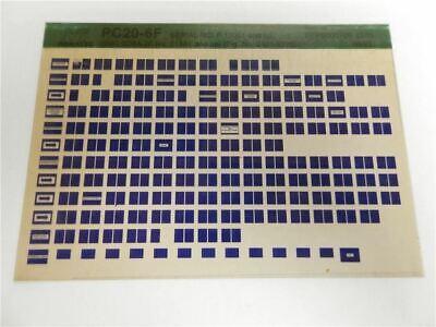 Haben Sie Einen Fragenden Verstand Komatsu Pc20-6f Ersatzteilliste Parts Book Microfiche 1993 Revise Bestellungen Sind Willkommen. Business & Industrie
