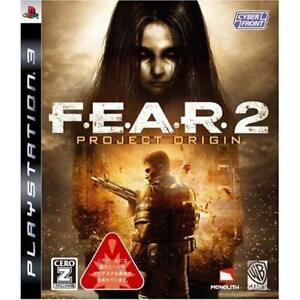 Used-PS3-F-E-A-R-2-Project-Origin-Japan-Import
