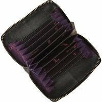 Anuschka Credit And Business Card Holder Wallet