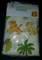 Disney Baby Urban Jungle The Lion King Simba And Nala Fitted Crib Sheet.