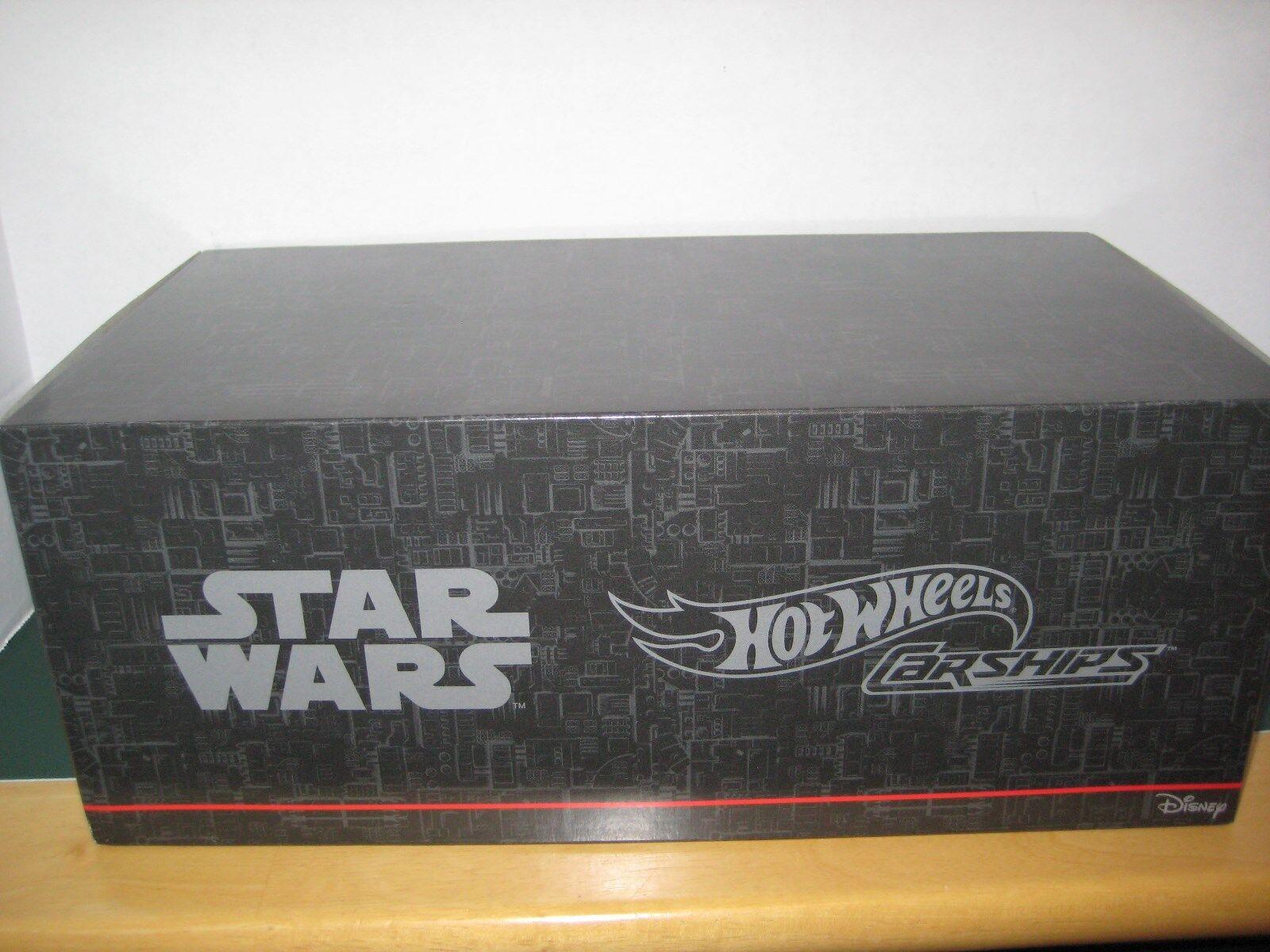 Star Wars 2016 Comic Con Hot Wheels Star Wars 4 Pack trinchera ejecutar Luces, Sonidos