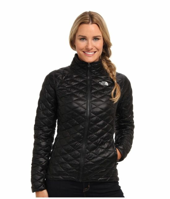 b747373a0fad The North Face Women s Large Black Quilted Thermoball Full Zip ...
