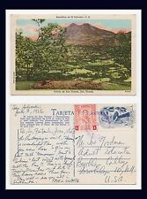 EL SALVADOR VOLCAN DE SAN VICENTE 5 JULY 1956 TO JOE GOODMAN, BROOKLYN COLLEGE