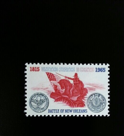 1965 5c Battle of New Orleans, General Andrew Jackson S