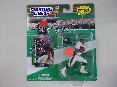 2000 Brian Griese Rookie Broncos Starting Lineup mint in pkg w// Football Card