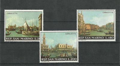 San Marino 1971 Canaletto Mnh