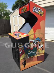 Wild West C O W Boys Of Moo Mesa Arcade Machine New Full Size Cowboys Guscade Ebay