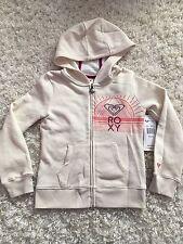 Roxy Girls Hoodie Sweatshirt Metro Heather Coral Purple NWT Size XS 7