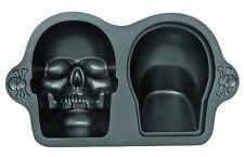 Wilton 3D Skull Pan cake tin Halloween Skeleton Cake NEXT DAY UK DESPATCH