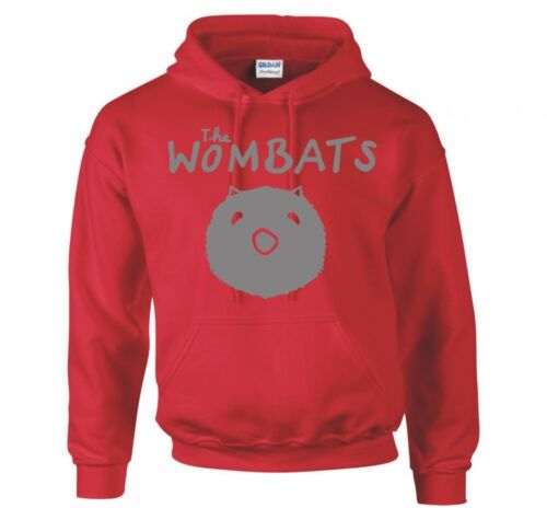 "THE WOMBATS /""WOMBAT/"" HOODIE NEW"