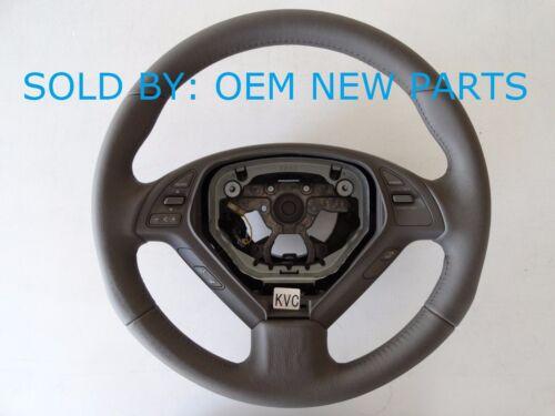 Infiniti BROWN Steering Wheel OEM G35 G37 G25 Sedan Q60 G Coupe 48430-JK02C