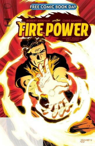 Fire Power #1  FCBD  Image Comic Book Robert Kirkman NM  2020