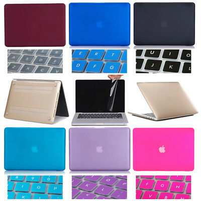 """For Macbook PRO 15.4 15/"""" A1286 Plastic Hard Case LCD Screen Keyboard Cover"""