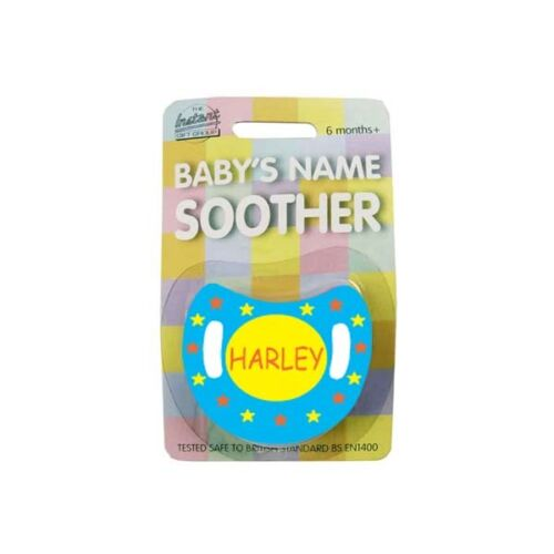 Soother//Pacifier multi listing Baby Boys Name Personalised Dummy names H-L