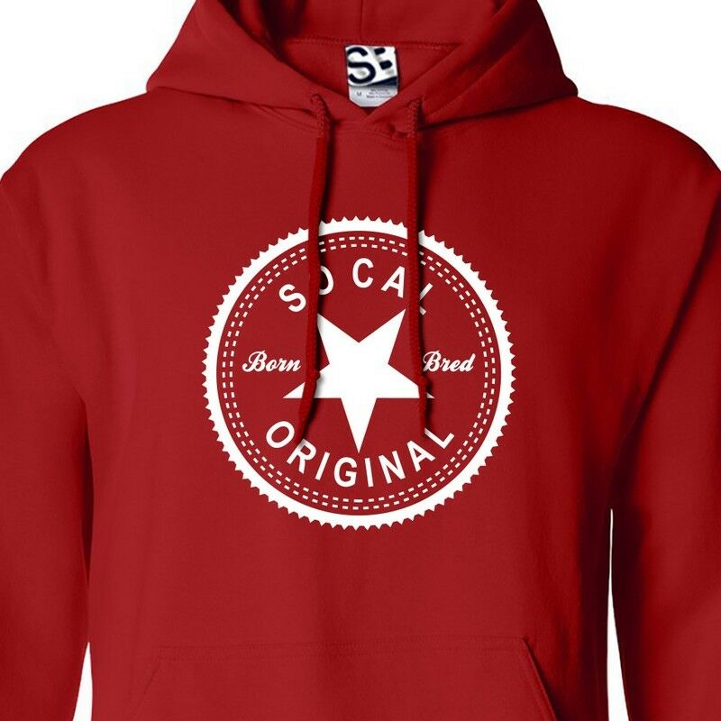 So Cal Original Inverse HOODIE - Hooded Born & BROT Made in Sweatshirt