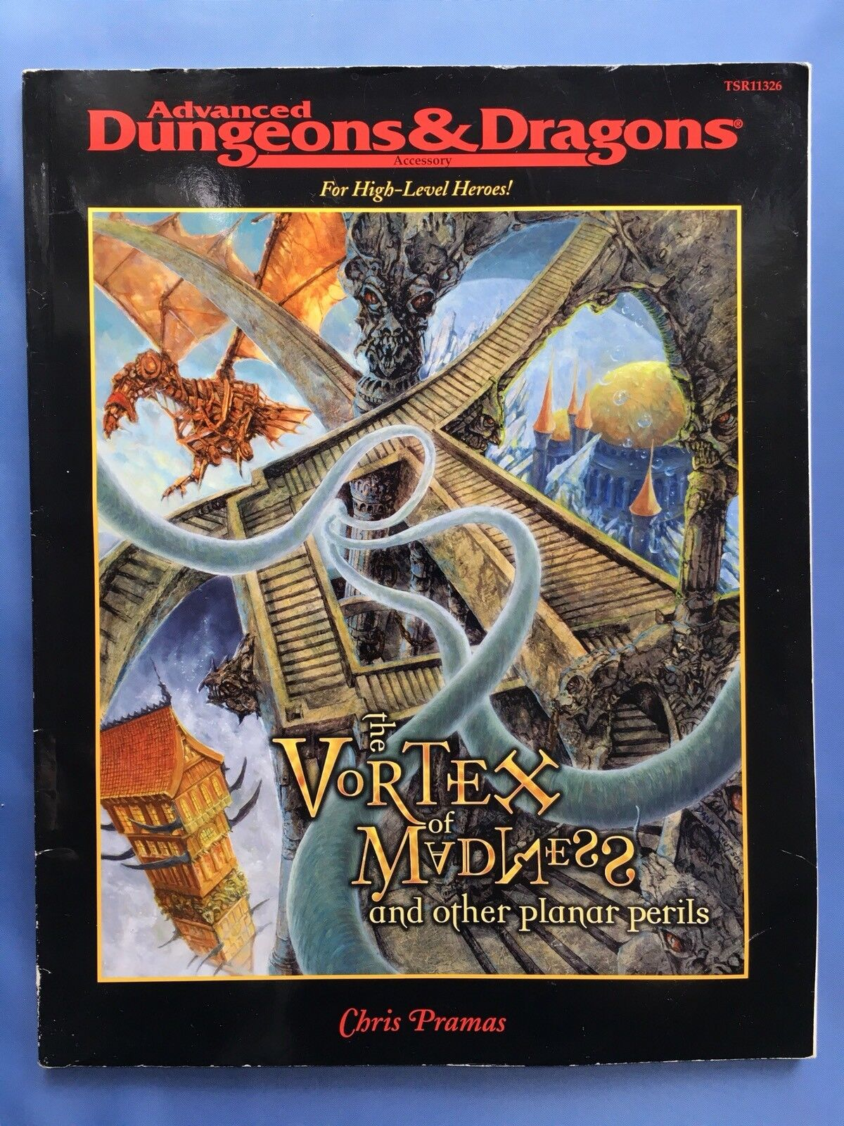 Vortex of Madness and Other Planar Perils - Advanced Dungeons & Dragons TSR11326