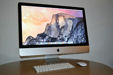 "Apple iMac 27"" 2009 quad-core i5 2.66GHz 8GB RAM 1TB HDD keyboard mouse box"
