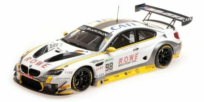 BMW M6 GT3 Rowe Racing  98 24H Spa 2017 - 1 18 - Minichamps