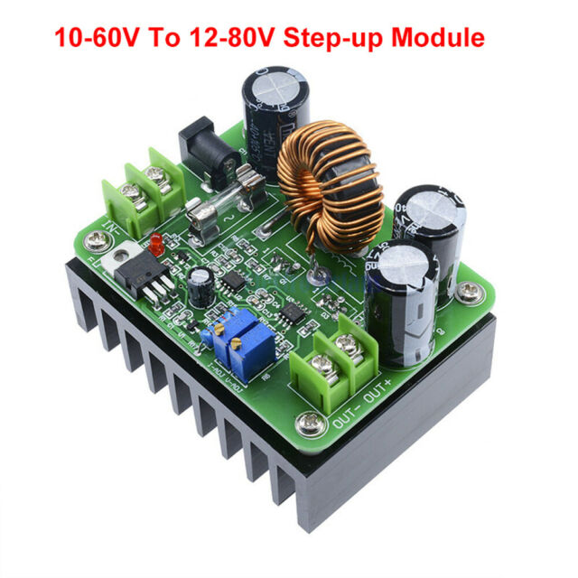 600W DC-DC 10-60V To 12-80V Step-up Module Boost Power Supply DC Converter New