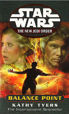 """""""AS NEW"""" Tyers, Katherine, Star Wars: The New Jedi Order - Balance Point, Paperb"""