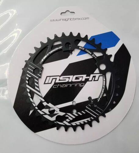 Insight 5-Bolt BMX Chainring 110mm BCD 37T Black