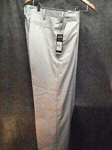Adidas Para Hombre Pantalones De Golf 38x 34 Gris Loose Fit Nueva Con Etiquetas 75 Ebay