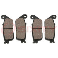 Front Ceramic Brake Pads 1997-1999 Honda Gl1500ct Valkyrie Tour Set Full Kit Lp on sale