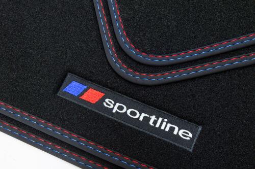 Sportline Fußmatten für BMW 5er F10 F11 Touring Kombi Limo Bj 2013-2017