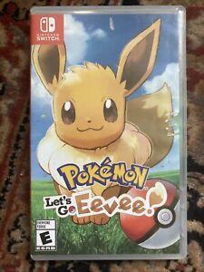 Pokemon-Lets-Go-Eevee-Nintendo-Switch-2018-Complete-CIB