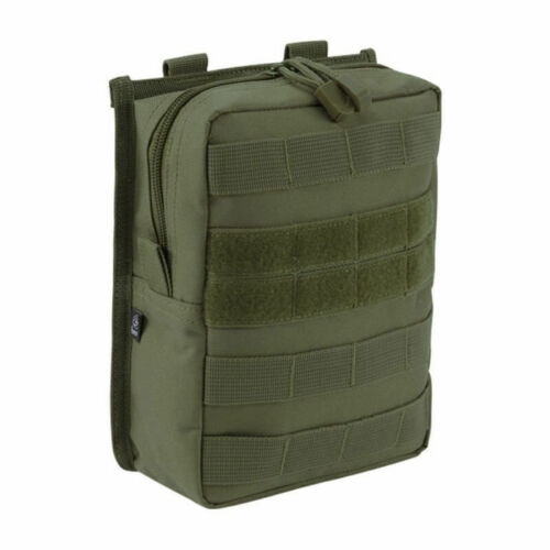 Brandit Molle Pouch Cross Tactical Military Utility Army Olive