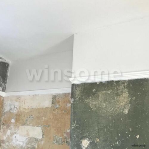 1700 Grade Lining Paper Wallpapering Base Baking Wallpaper Liner Smooth Wall 10m