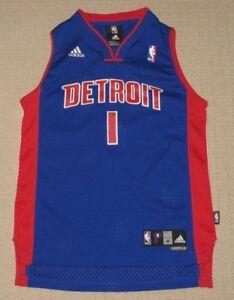 07ec4de0037 NBA Vintage Detroit Pistons Chauncey Billups  1 Sewn Jersey Youth ...