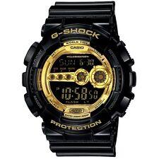 Casio G-Shock GD-100GB-1D Digital Funky Black wiith Gold Resin Sport Watch