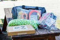 Tree Climbers Deluxe Spur Kit, Medium(34-40) High Back Saddle W/ Pole Climbers