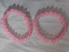 Rose Quartz round bracelet - Healing stone, Reiki, Crystal therapy, Love