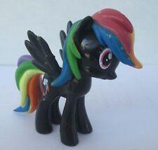 Hot sell !!! my little pony friendship Rainbow Dash black figure !!!ABCD4