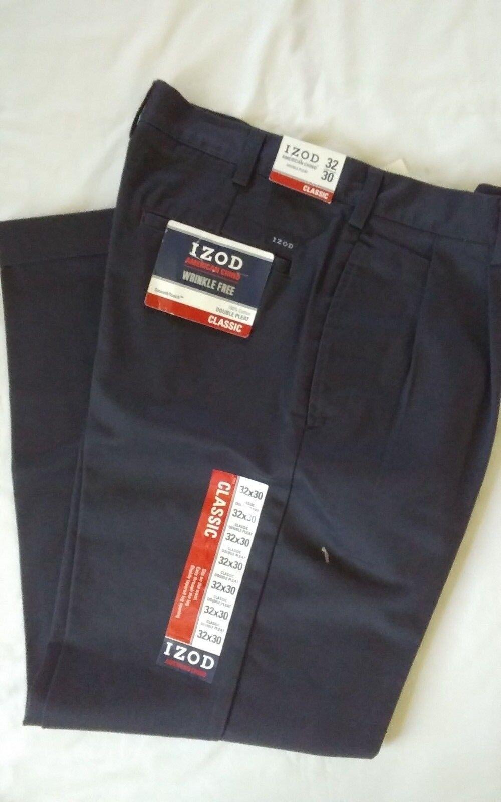 I ZOD   SIZE 32 X 30   CLASSIC DOUBLE PLEAT DRESS PANTS