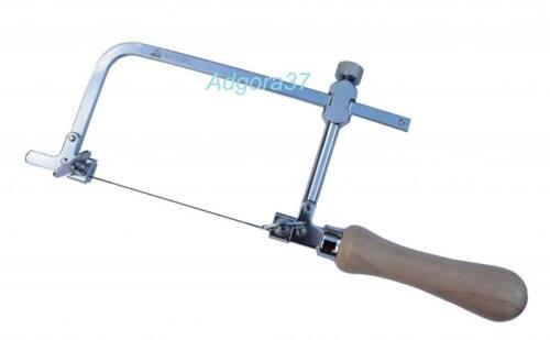 Antilope Laubsäge Laubsägebogen verstellbar 1A TOP Qualität verchromt 70 mm