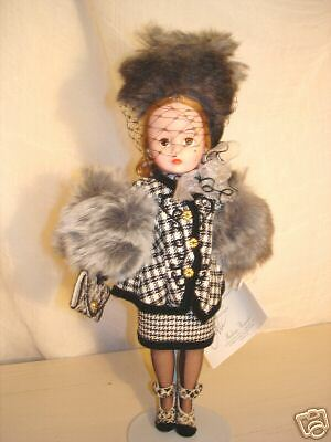 "Madame Alexander HOUNDSTOOTH SUIT 10"" # 22190 MIBWT"